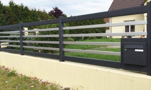 cloture alu horizontale art et portails (9)
